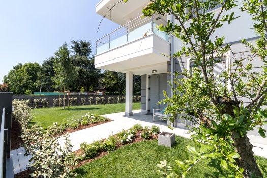 Giardino indipendente formigine appartamento nuova costruzione classe A4 Casinalbo Modena Maranello